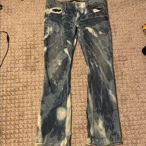 Tie die jeans